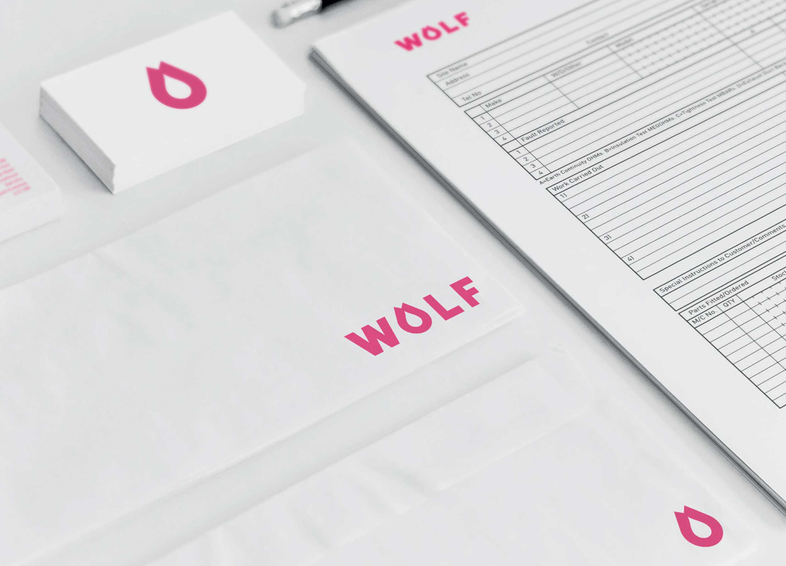 WOLF LAUNDRY - BRANDING, IDENTITY AND MARKETING CAMPAIGN