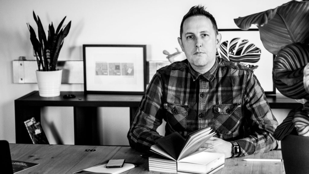 Expert Branding and Graphic design Daniel Ocock from Vie Design Co.